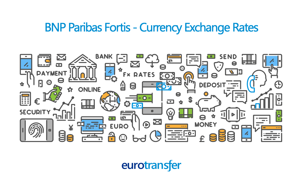 BNP Paribas Fortis Euro Transfer Exchange Rates