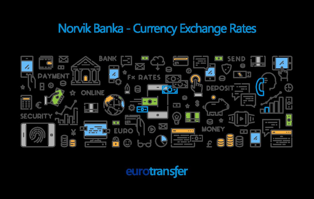 Norvik Banka Euro Transfer Exchange Rates