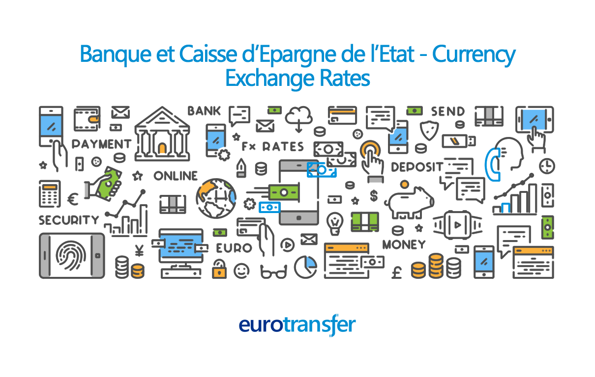 Banque et Caisse d'Epargne de l'Etat Euro Transfer Exchange Rates